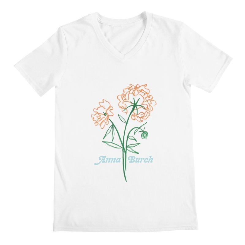 Anna Burch - Wall Flowers Men's V-Neck by Polyvinyl Threadless Shop