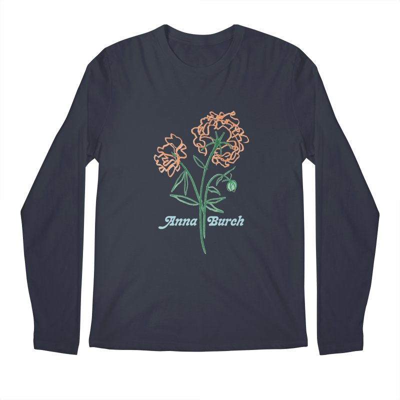 Anna Burch - Wall Flowers Men's Regular Longsleeve T-Shirt by Polyvinyl Threadless Shop