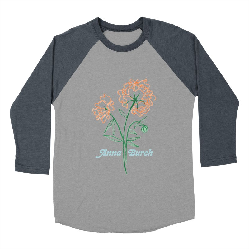 Anna Burch - Wall Flowers Women's Baseball Triblend Longsleeve T-Shirt by Polyvinyl Threadless Shop