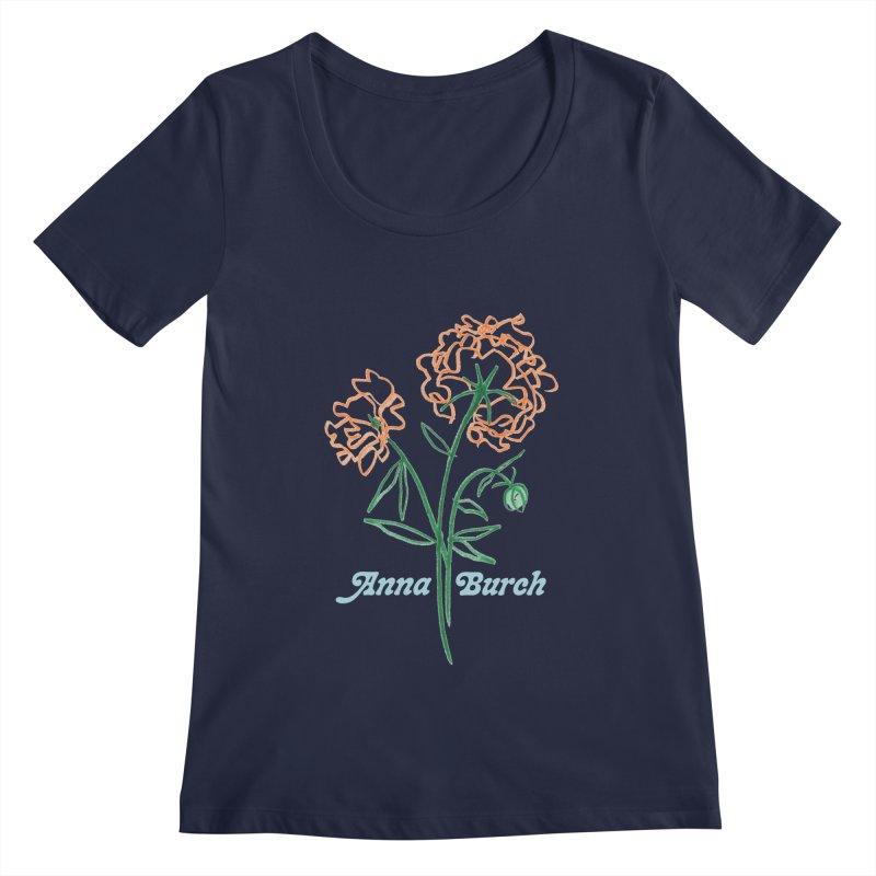 Anna Burch - Wall Flowers Women's Regular Scoop Neck by Polyvinyl Threadless Shop