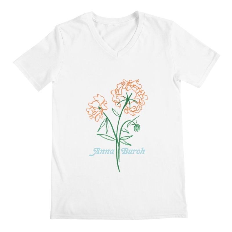 Anna Burch - Wall Flowers Men's V-Neck by Polyvinyl Threadless Shop