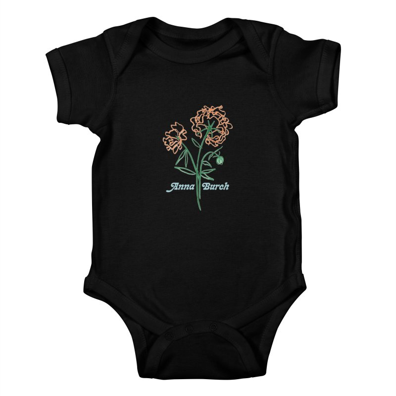 Anna Burch - Wall Flowers Kids Baby Bodysuit by Polyvinyl Threadless Shop