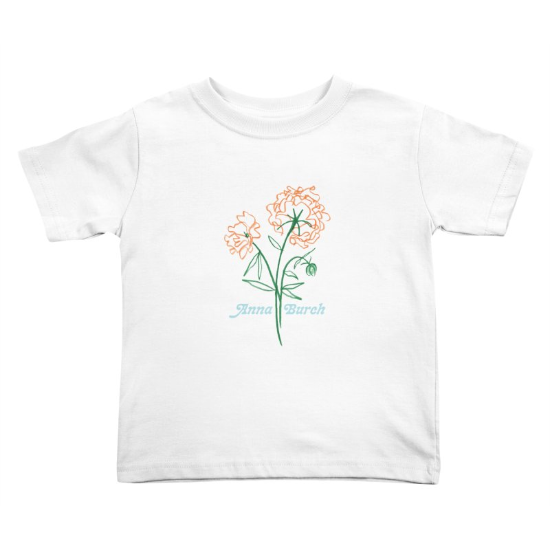 Anna Burch - Wall Flowers Kids Toddler T-Shirt by Polyvinyl Threadless Shop