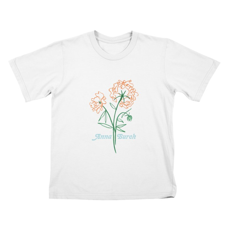 Anna Burch - Wall Flowers Kids T-Shirt by Polyvinyl Threadless Shop