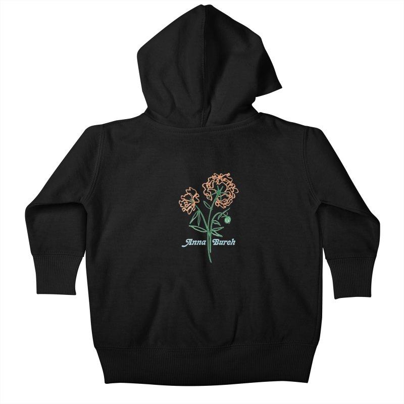 Anna Burch - Wall Flowers Kids Baby Zip-Up Hoody by Polyvinyl Threadless Shop