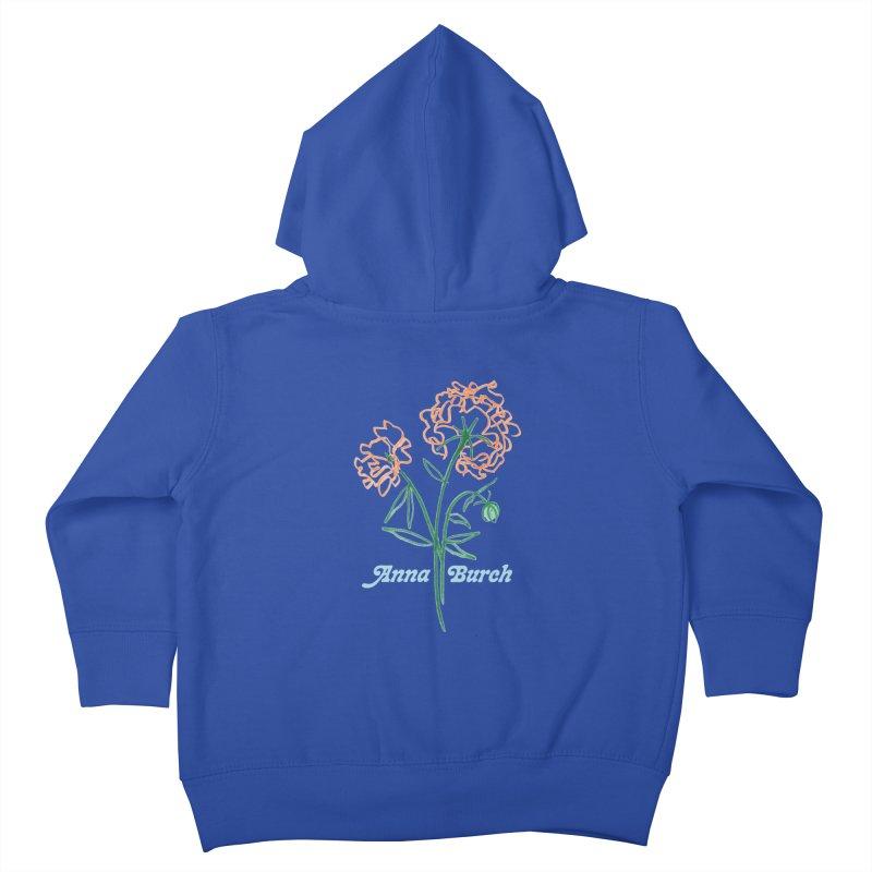 Anna Burch - Wall Flowers Kids Toddler Zip-Up Hoody by Polyvinyl Threadless Shop