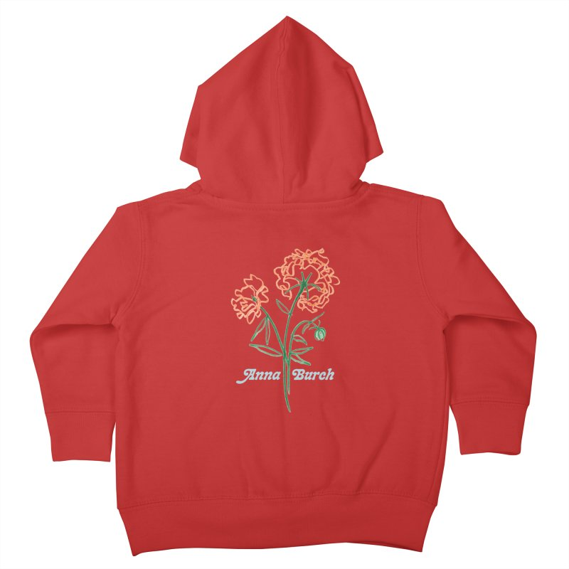 Anna Burch - Wall Flowers Kids Toddler Zip-Up Hoody by Polyvinyl Threadless Shop
