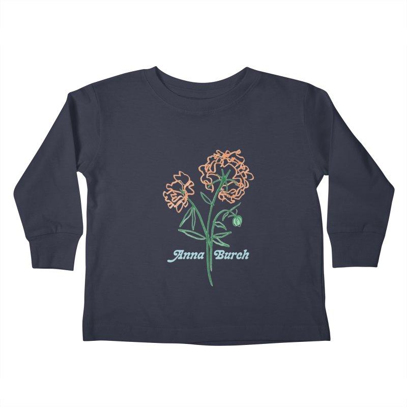 Anna Burch - Wall Flowers Kids Toddler Longsleeve T-Shirt by Polyvinyl Threadless Shop