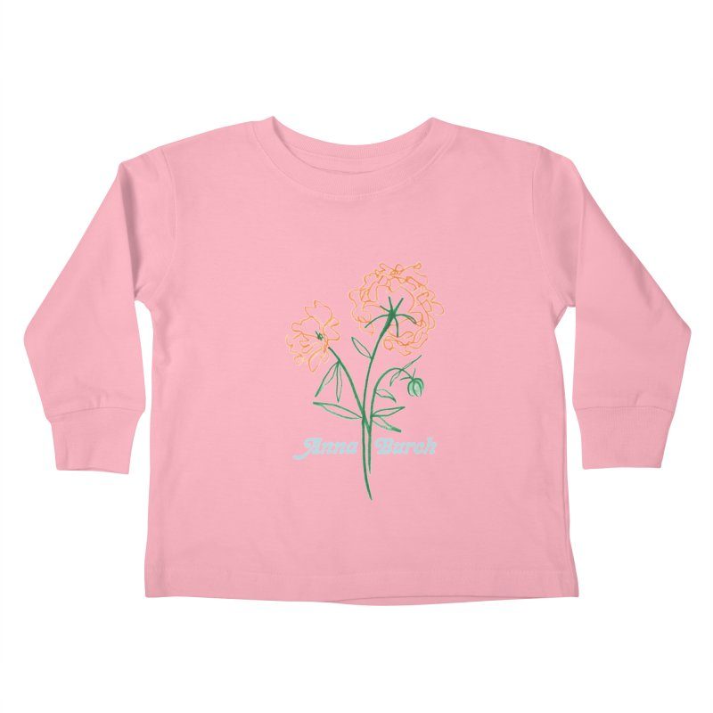 Anna Burch - Wall Flowers Kids Toddler Longsleeve T-Shirt by Polyvinyl Threadless Shop