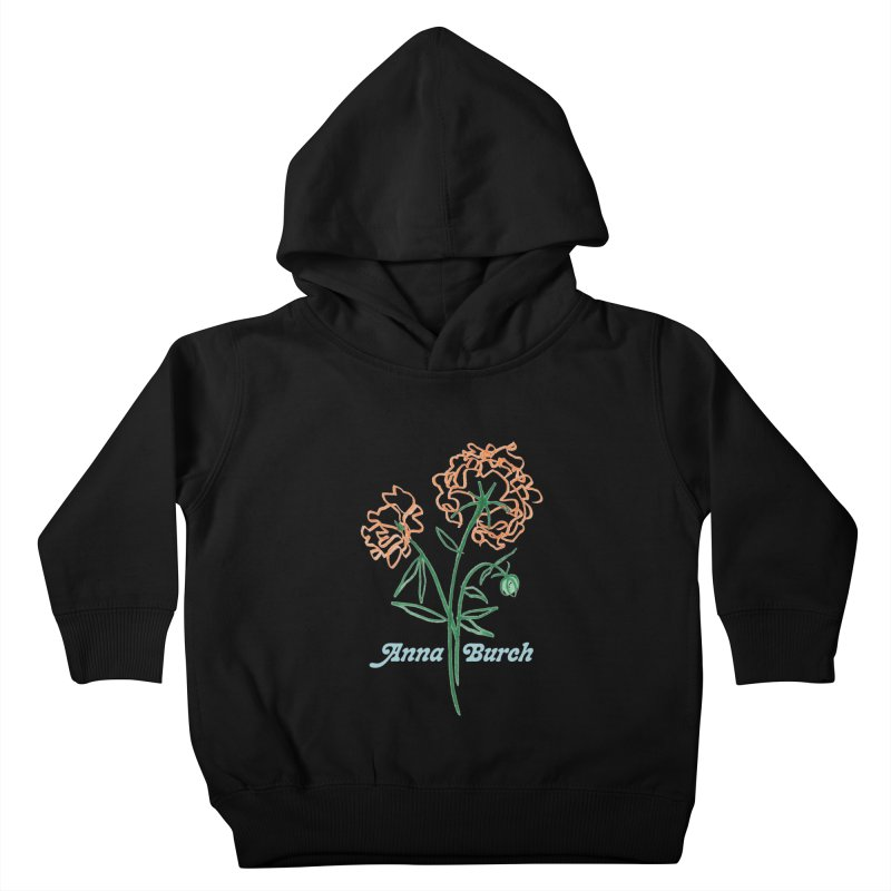 Anna Burch - Wall Flowers Kids Toddler Pullover Hoody by Polyvinyl Threadless Shop