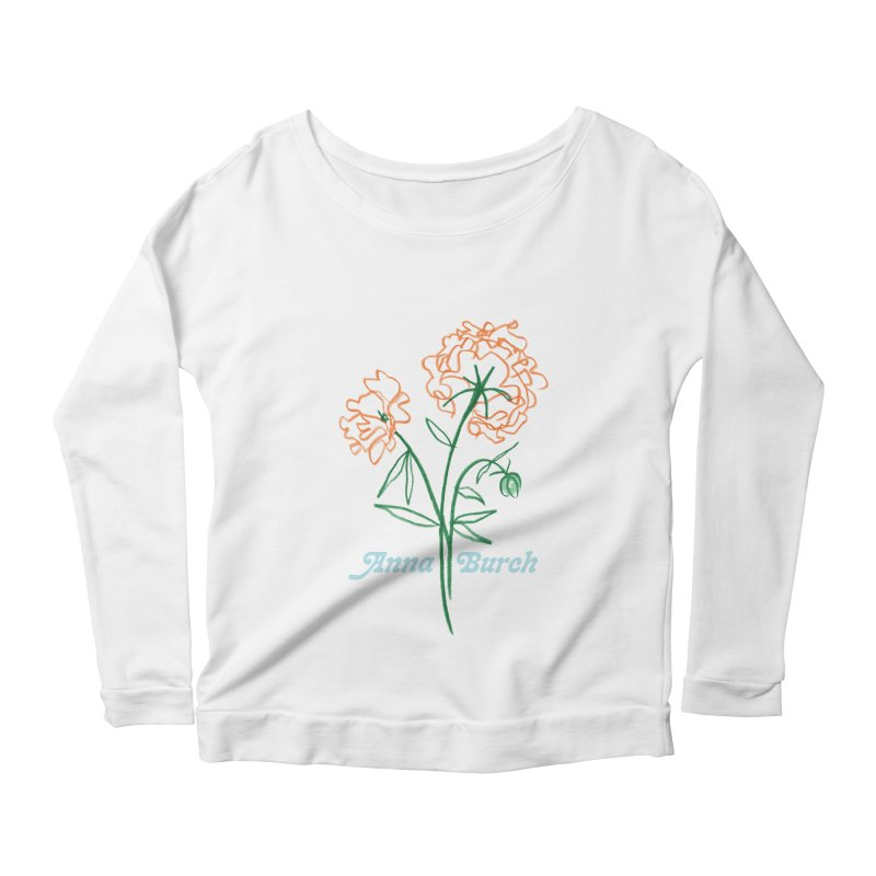 Anna Burch - Wall Flowers Women's Scoop Neck Longsleeve T-Shirt by Polyvinyl Threadless Shop