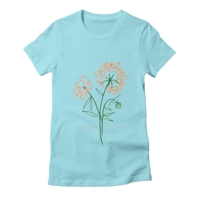 Anna Burch - Wall Flowers Women's Fitted T-Shirt by Polyvinyl Threadless Shop