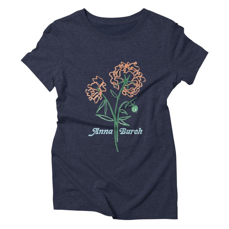 Anna Burch - Wall Flowers Women's Triblend T-Shirt by Polyvinyl Threadless Shop
