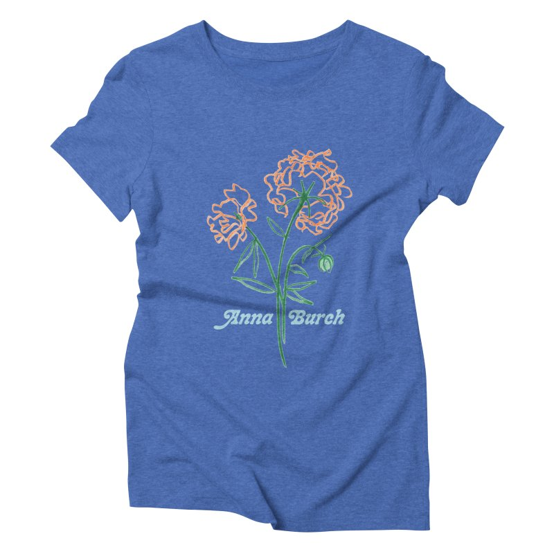 Anna Burch - Wall Flowers Women's Triblend T-Shirt by Polyvinyl Threadless Shop