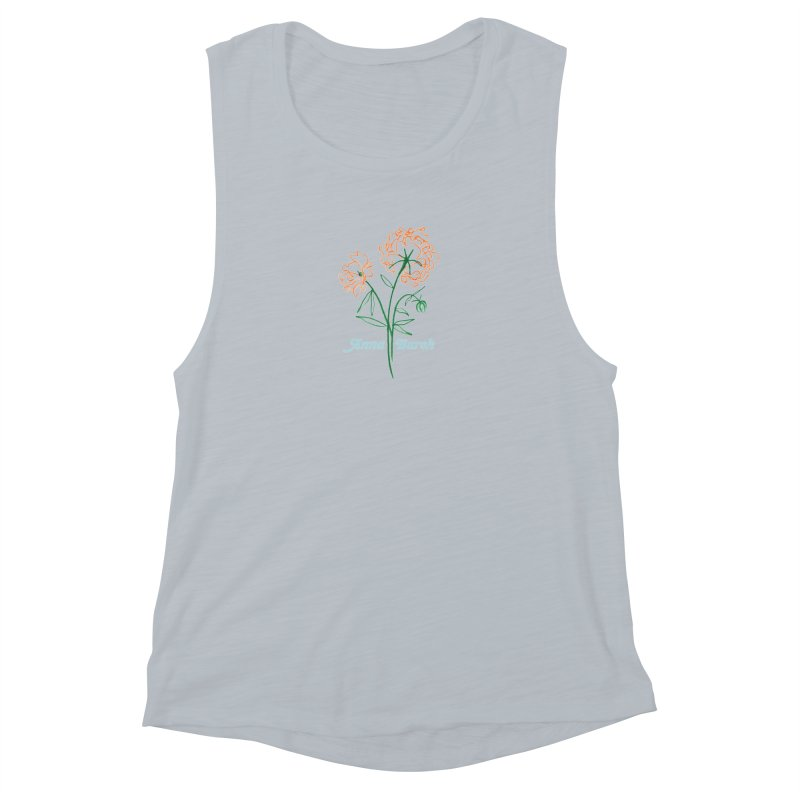Anna Burch - Wall Flowers Women's Muscle Tank by Polyvinyl Threadless Shop