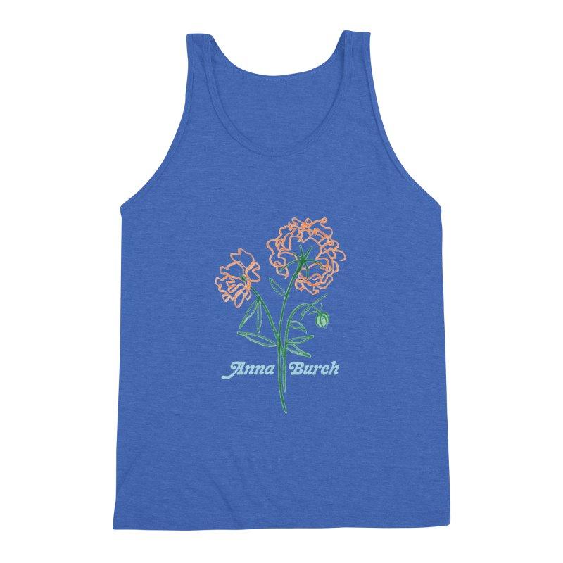 Anna Burch - Wall Flowers Men's Triblend Tank by Polyvinyl Threadless Shop