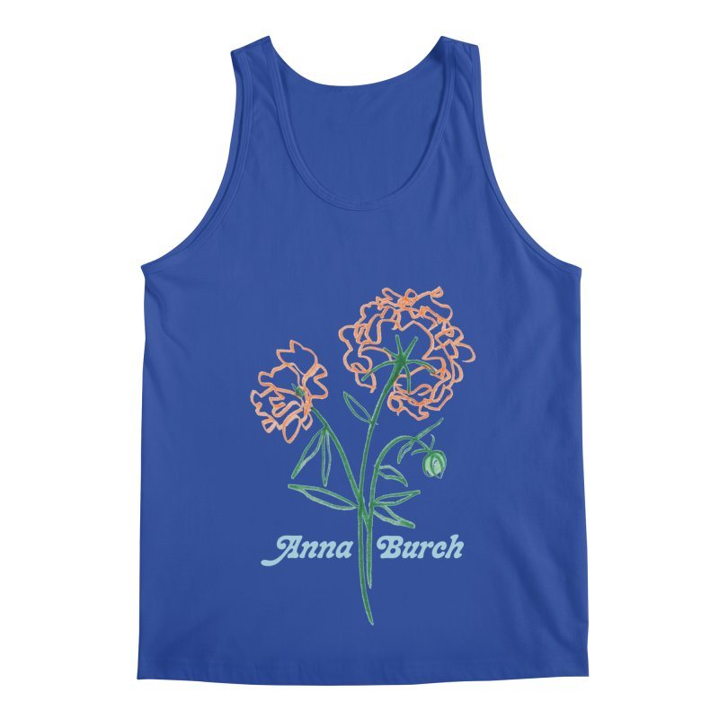 Anna Burch - Wall Flowers Men's Regular Tank by Polyvinyl Threadless Shop