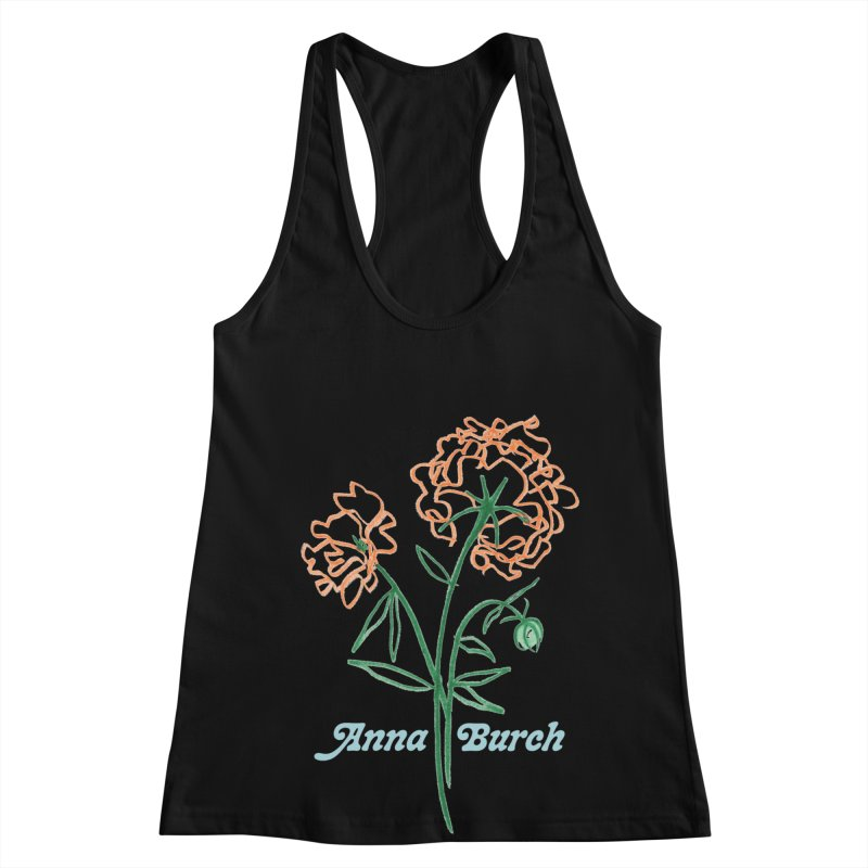 Anna Burch - Wall Flowers Women's Racerback Tank by Polyvinyl Threadless Shop