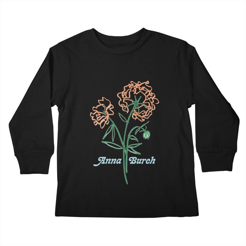 Anna Burch - Wall Flowers Kids Longsleeve T-Shirt by Polyvinyl Threadless Shop