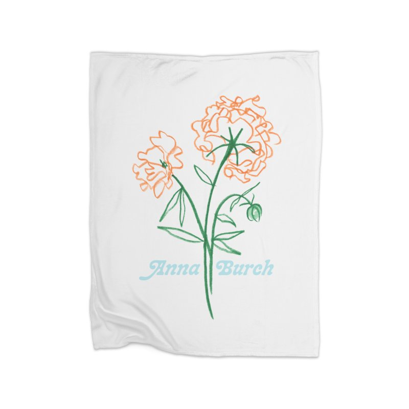 Anna Burch - Wall Flowers Home Blanket by Polyvinyl Threadless Shop