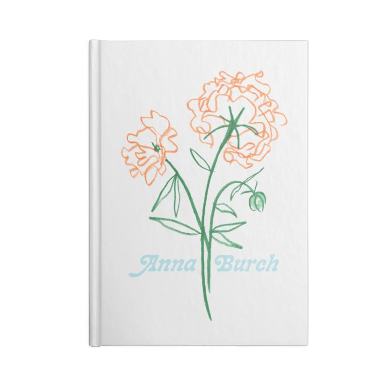 Anna Burch - Wall Flowers Accessories Blank Journal Notebook by Polyvinyl Threadless Shop