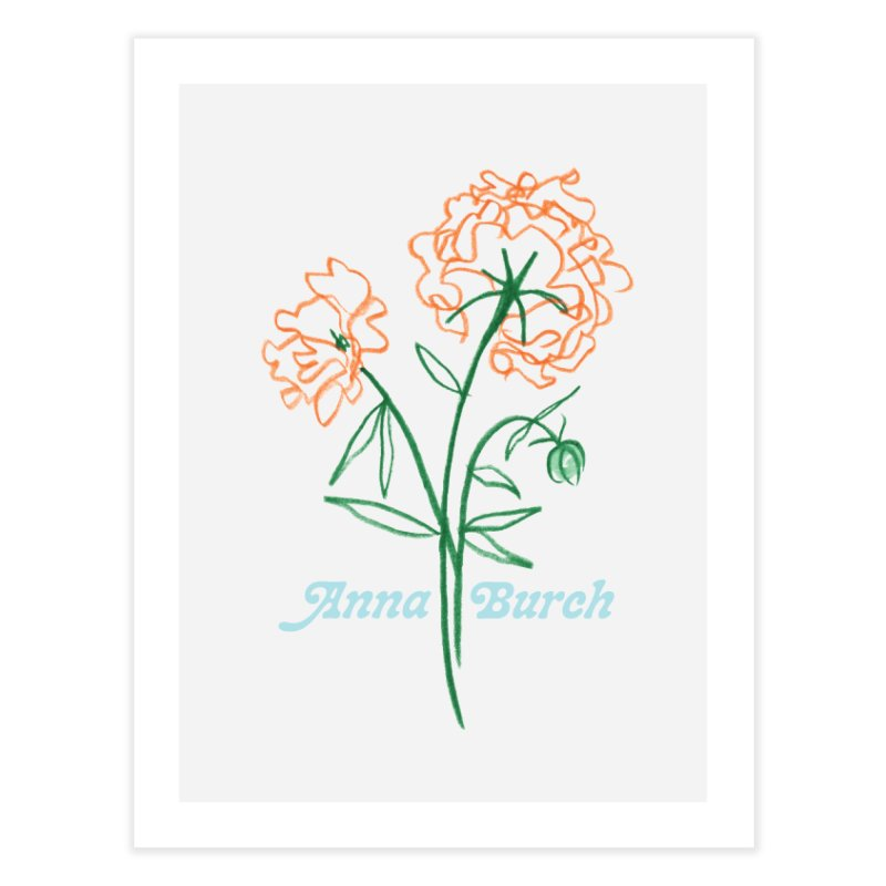 Anna Burch - Wall Flowers Home Fine Art Print by Polyvinyl Threadless Shop