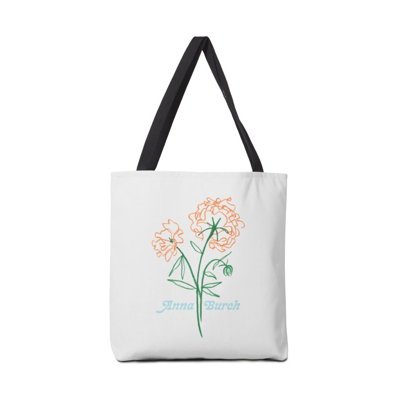 Anna Burch - Wall Flowers Accessories Tote Bag Bag by Polyvinyl Threadless Shop
