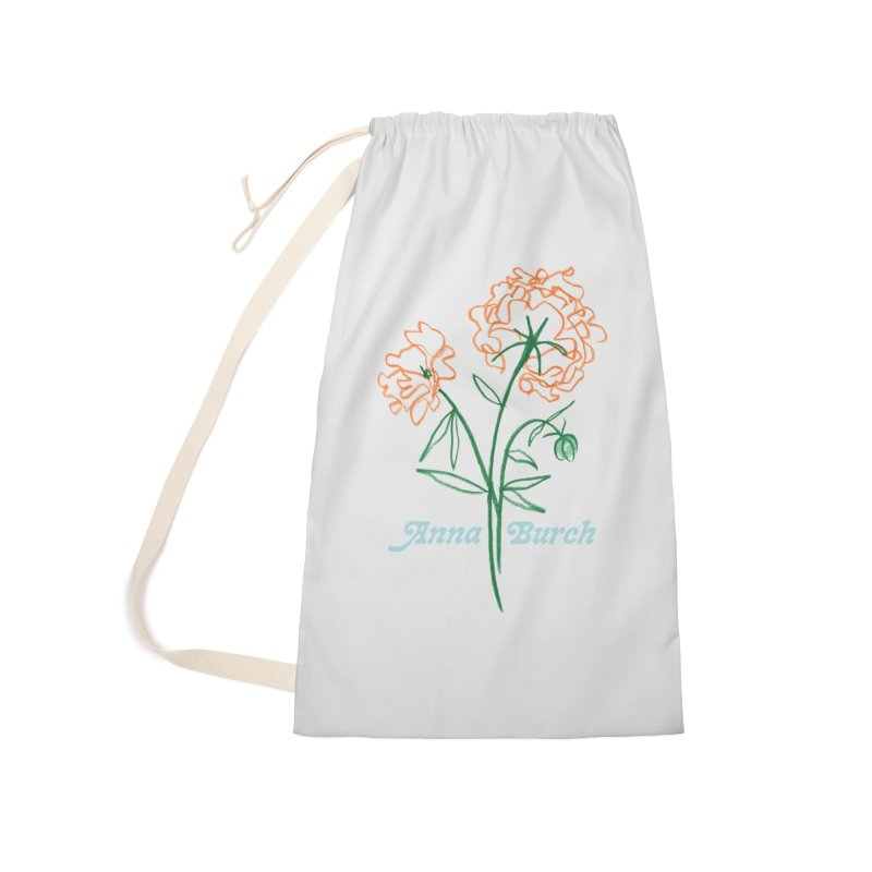 Anna Burch - Wall Flowers Accessories Laundry Bag Bag by Polyvinyl Threadless Shop