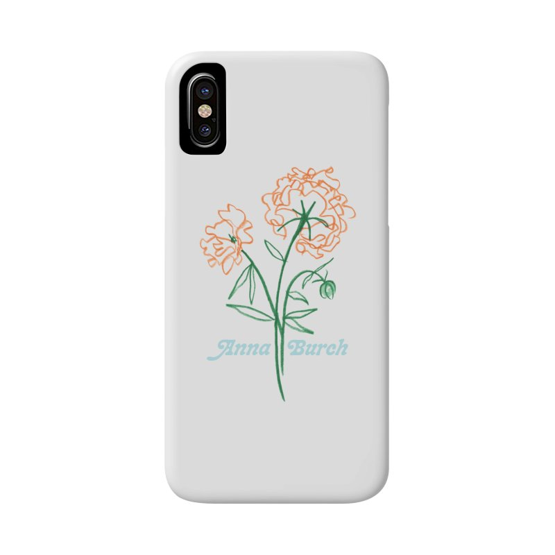 Anna Burch - Wall Flowers Accessories Phone Case by Polyvinyl Threadless Shop