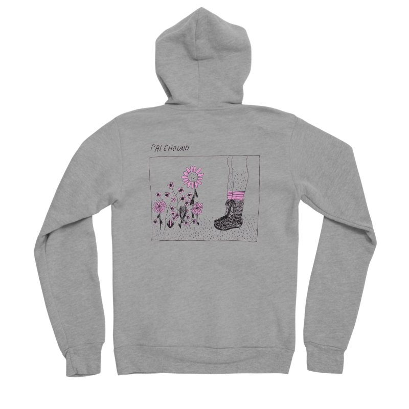 Palehound - Panel Women's Sponge Fleece Zip-Up Hoody by Polyvinyl Threadless Shop