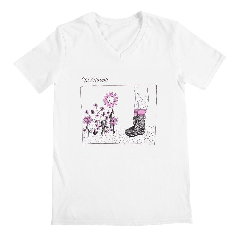 Palehound - Panel Men's V-Neck by Polyvinyl Threadless Shop