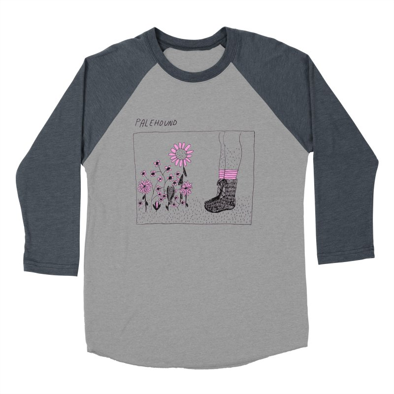 Palehound - Panel Men's Baseball Triblend Longsleeve T-Shirt by Polyvinyl Threadless Shop