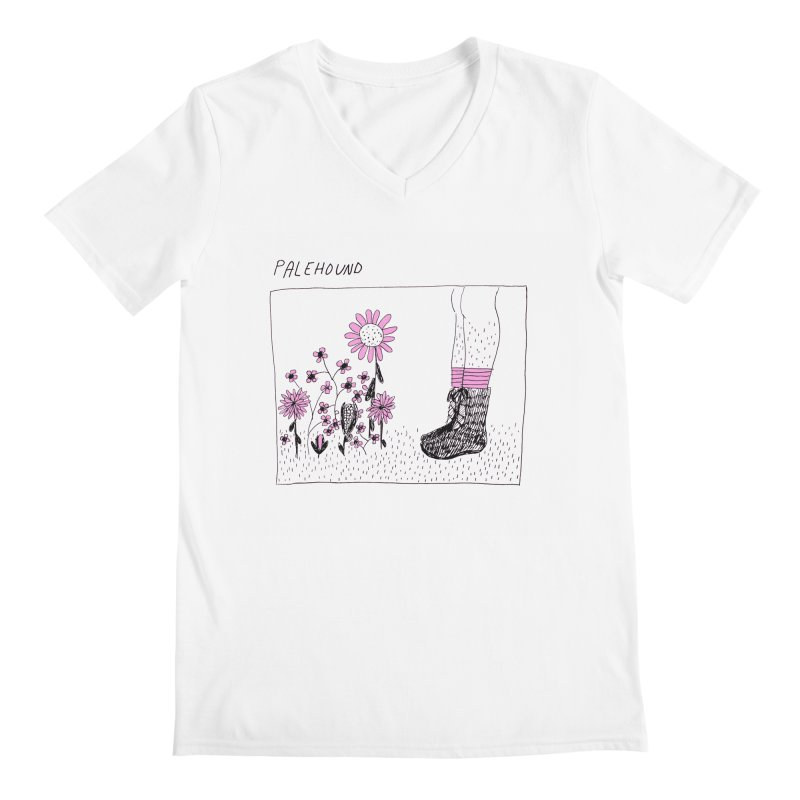 Palehound - Panel Men's Regular V-Neck by Polyvinyl Threadless Shop