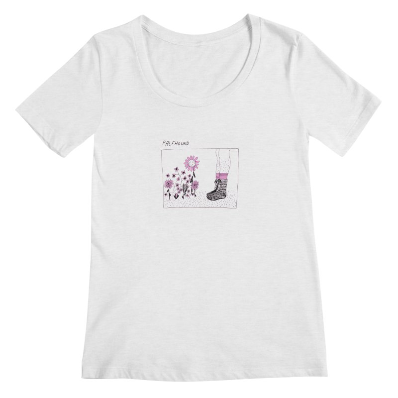 Palehound - Panel Women's Regular Scoop Neck by Polyvinyl Threadless Shop