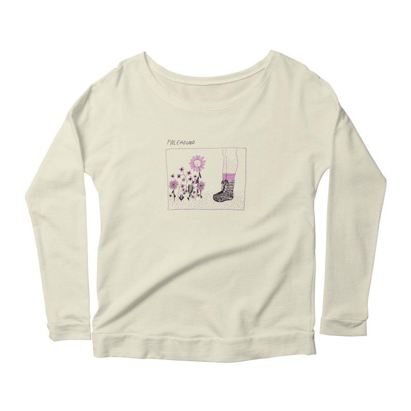 Palehound - Panel Women's Scoop Neck Longsleeve T-Shirt by Polyvinyl Threadless Shop