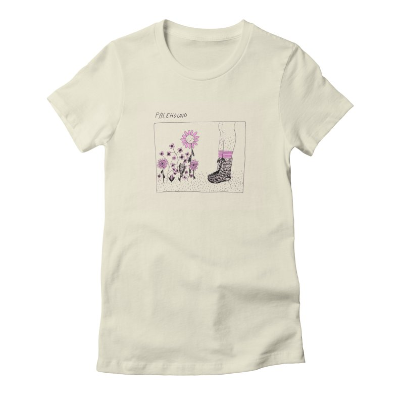 Palehound - Panel Women's Fitted T-Shirt by Polyvinyl Threadless Shop