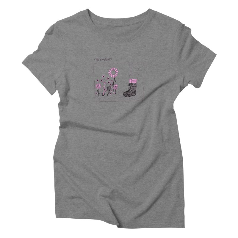 Palehound - Panel Women's Triblend T-Shirt by Polyvinyl Threadless Shop