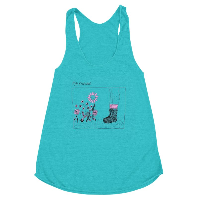 Palehound - Panel Women's Racerback Triblend Tank by Polyvinyl Threadless Shop