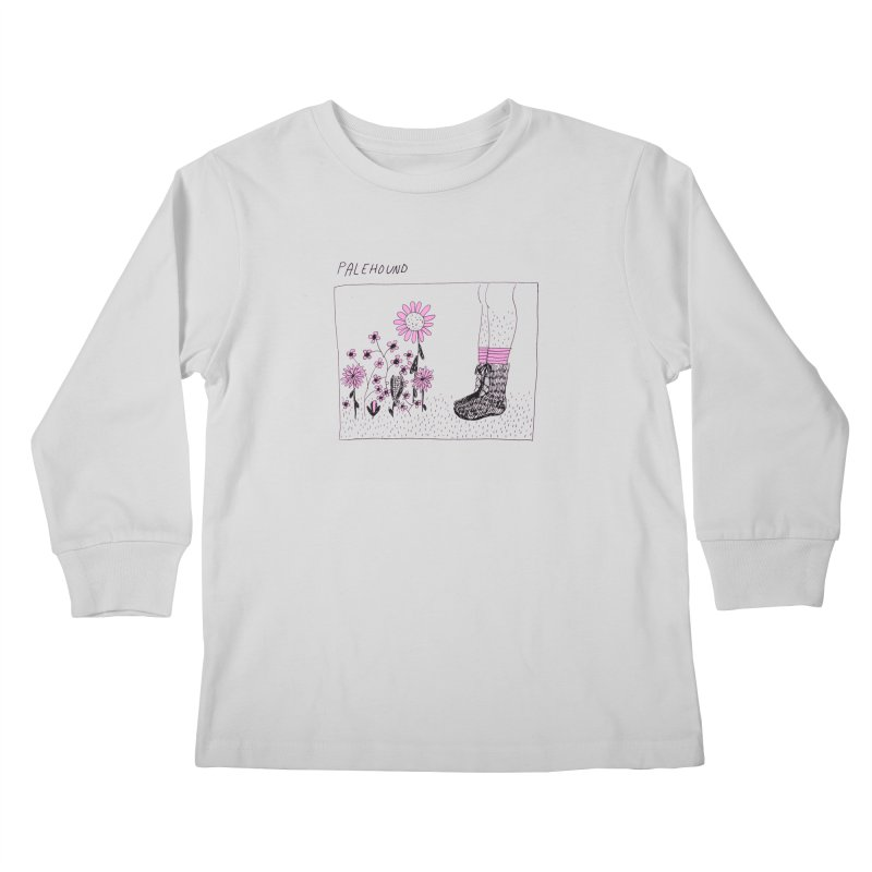 Palehound - Panel Kids Longsleeve T-Shirt by Polyvinyl Threadless Shop