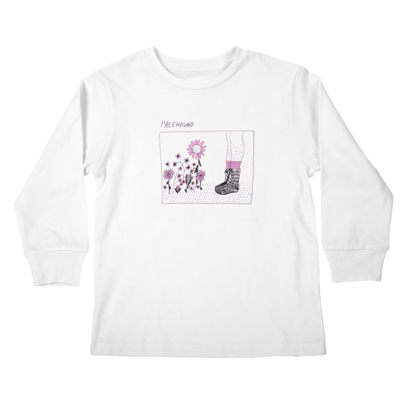 Palehound - Panel Kids Longsleeve T-Shirt by Polyvinyl Threadless Shop