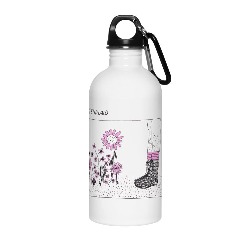 Palehound - Panel Accessories Water Bottle by Polyvinyl Threadless Shop