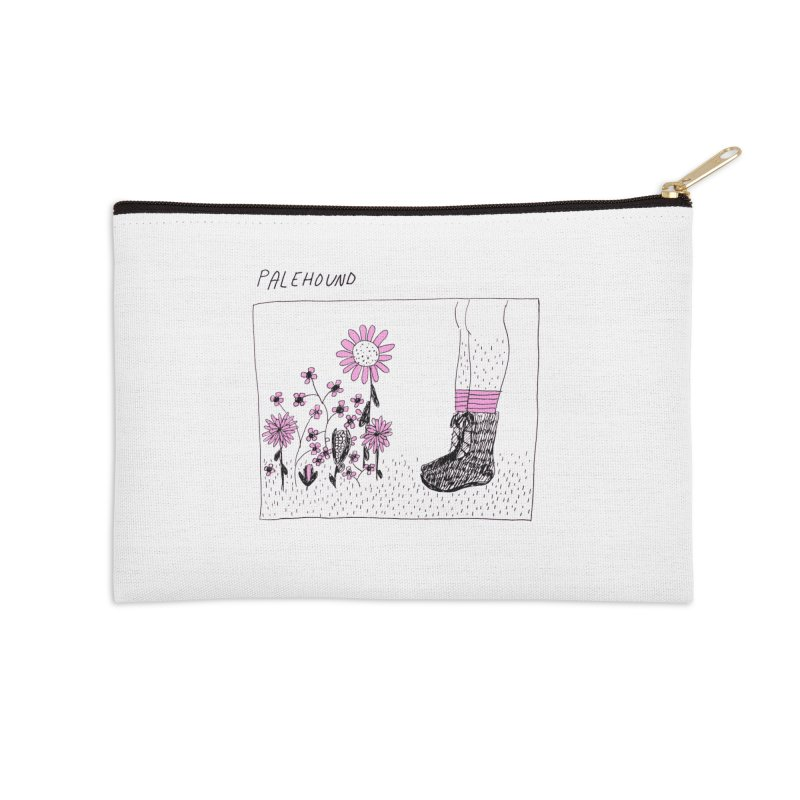 Palehound - Panel Accessories Zip Pouch by Polyvinyl Threadless Shop