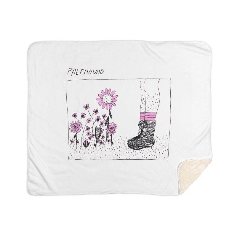 Palehound - Panel Home Sherpa Blanket Blanket by Polyvinyl Threadless Shop