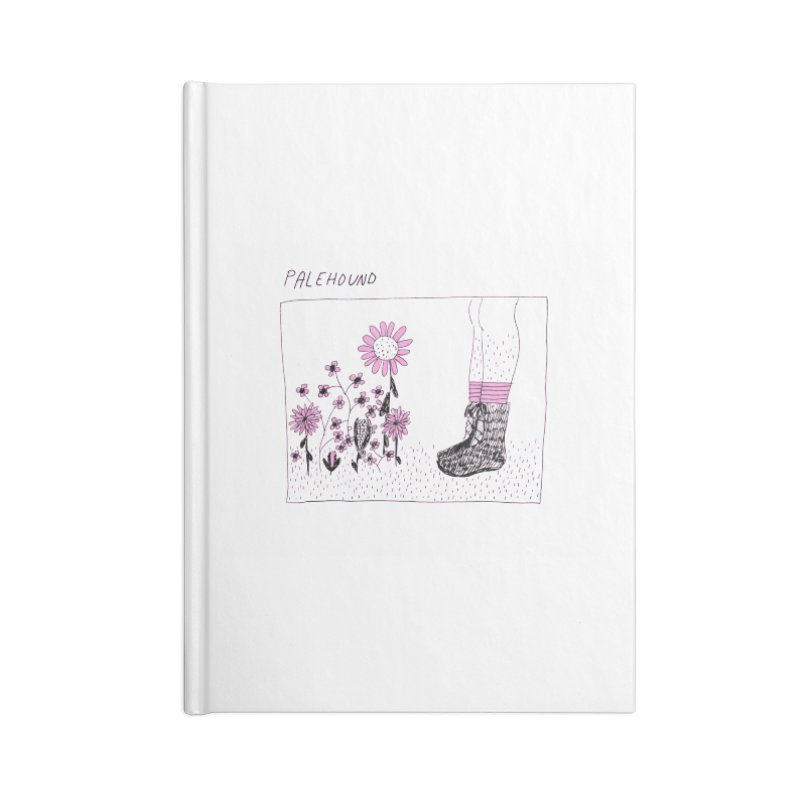 Palehound - Panel Accessories Lined Journal Notebook by Polyvinyl Threadless Shop
