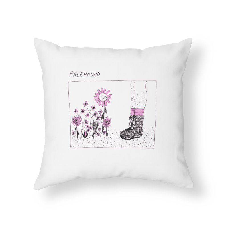 Palehound - Panel Home Throw Pillow by Polyvinyl Threadless Shop
