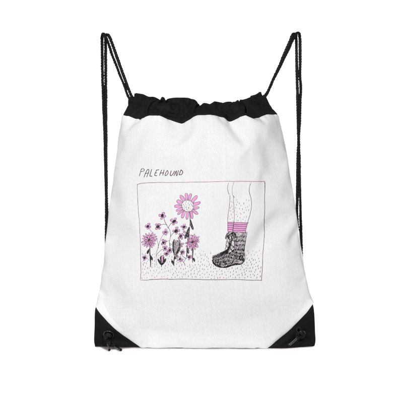 Palehound - Panel Accessories Drawstring Bag Bag by Polyvinyl Threadless Shop