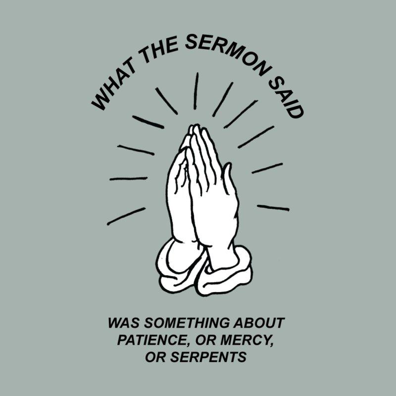 Fred Thomas - What the Sermon Said Accessories Bag by Polyvinyl Threadless Shop
