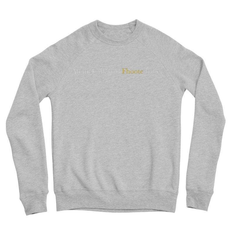 AMERICAN FOOTBALL - SYLLABLES Women's Sponge Fleece Sweatshirt by Polyvinyl Threadless Shop