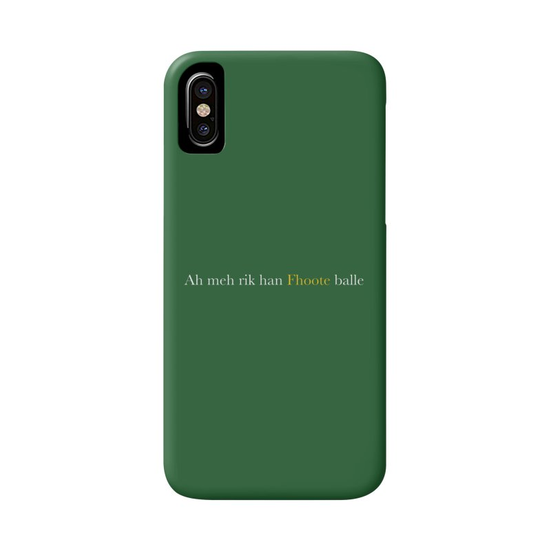 AMERICAN FOOTBALL - SYLLABLES Accessories Phone Case by Polyvinyl Threadless Shop