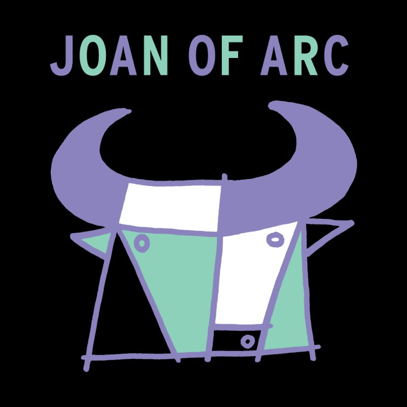 JOAN OF ARC - BULL Women's Zip-Up Hoody by Polyvinyl Threadless Shop